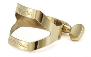 Selmer (Paris) Gold Laquered Soprano Saxophone Ligature