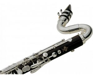 Close up Bass Clarinet - Prestige buffet