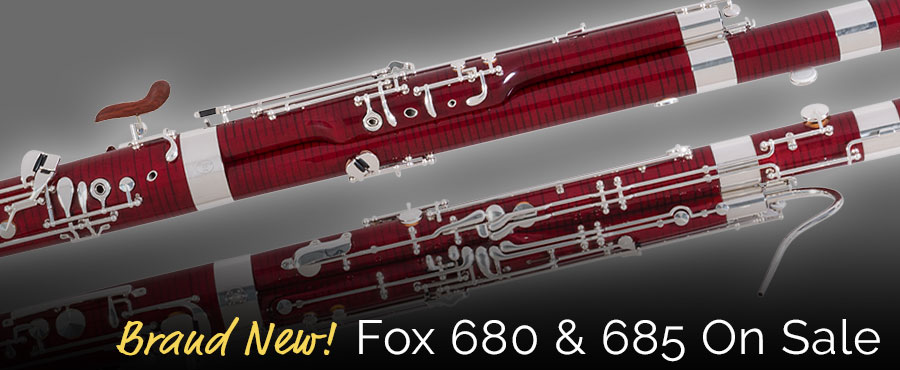 Fox 680 & 685 bassoons on sale! - Midwest Musical Imports