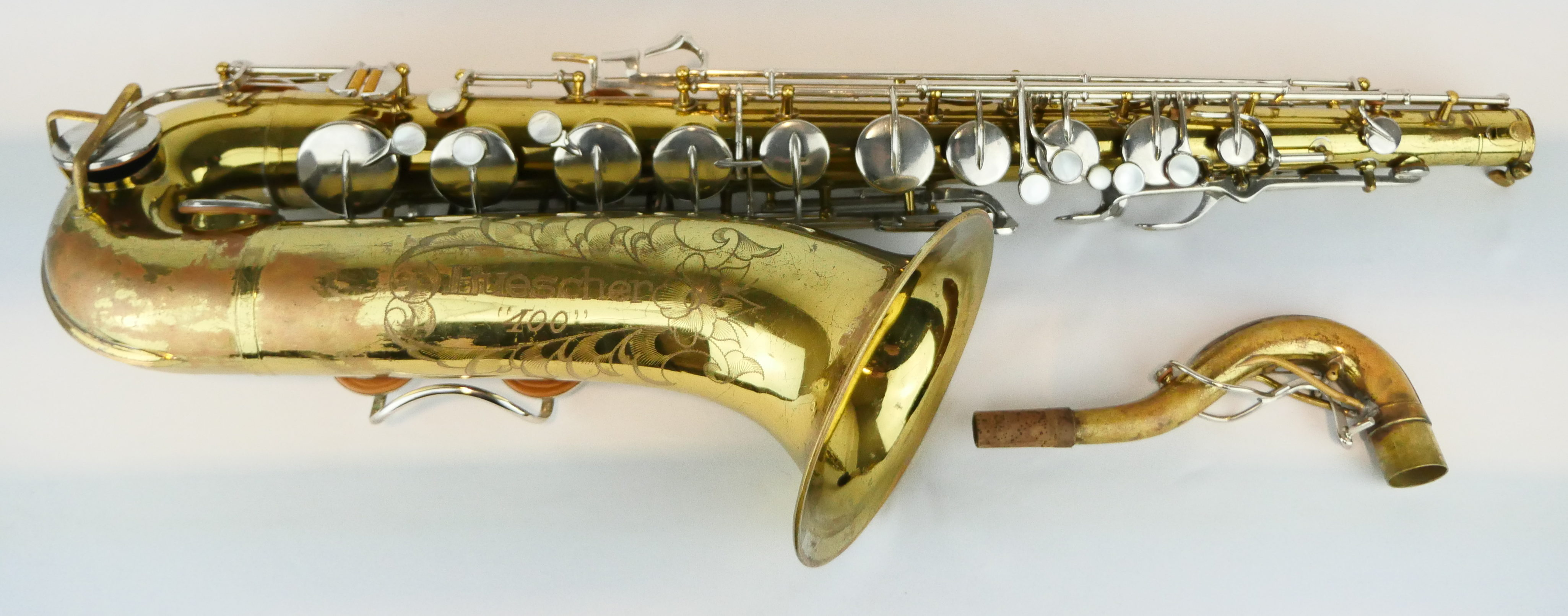 Brilliant Used Buescher 400 Tenor Saxophone S523 Interior Design Ideas Helimdqseriescom