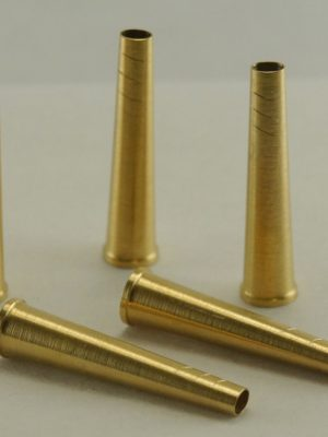 Rigotti d'Amore tube with collar, brass