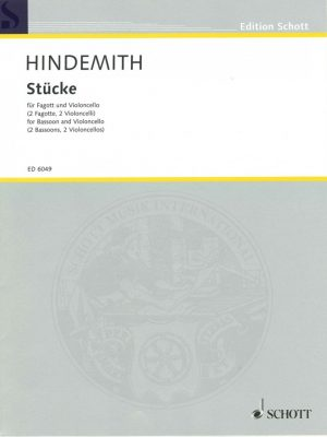 Four Pieces for Two Bass Clef Instruments, Hindemith