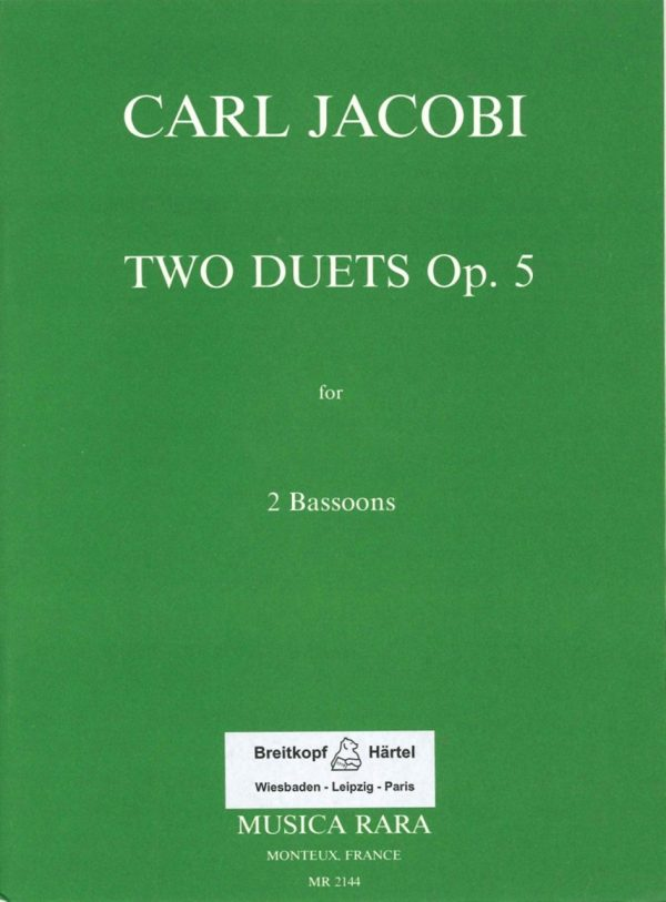 Two Duets, Op 5 Jacobi