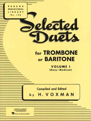 Rubank Duets for Bassoon/Trombone, Vol. 1