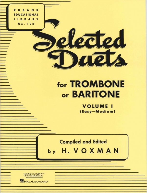 Rubank Duets for Bassoon/Trombone, Vol. 1