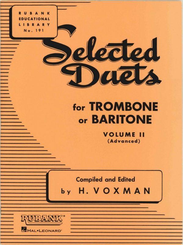 Rubank Duets for Bassoon/Trombone, Vol. 2
