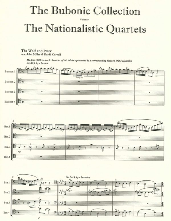 The Bubonic Collection Vol. 4 - The Nationalistic Quartets