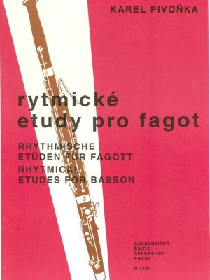 Pivonka: Rhythmic Etudes for Bassoon