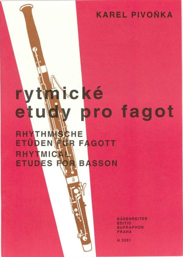 Pivonka: Rhythmic Etudes for Bassoon
