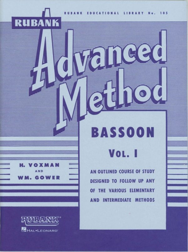 Rubank: Bassoon Method, Vol. 1 (Advanced)