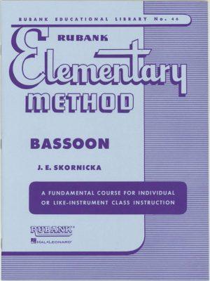 Rubank: Bassoon Method (Elementary)