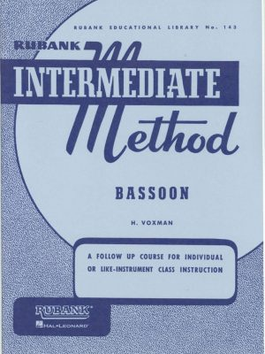Rubank: Bassoon Method (Intermediate)