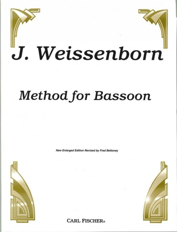Weissenborn: Bassoon Method