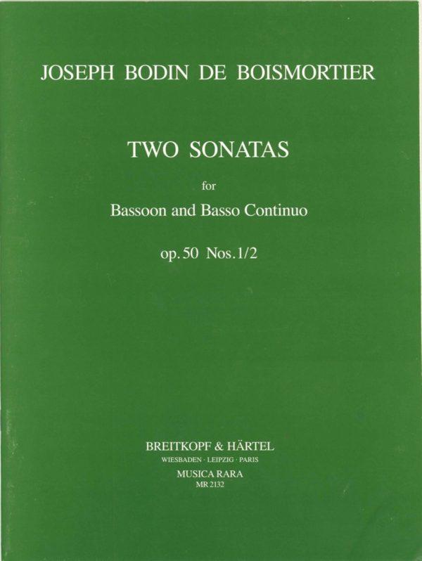 Boismortier: Two Sonatas for Bassoon, Op. 50 #1-2