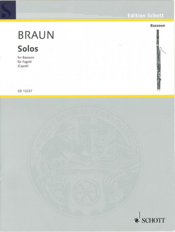 Braun: Solos (1740) for Bassoon
