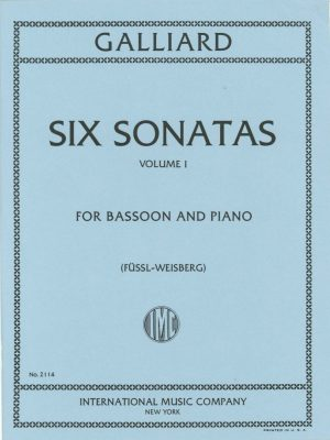 Galliard: Six Sonatas Vol. 1 #1-3