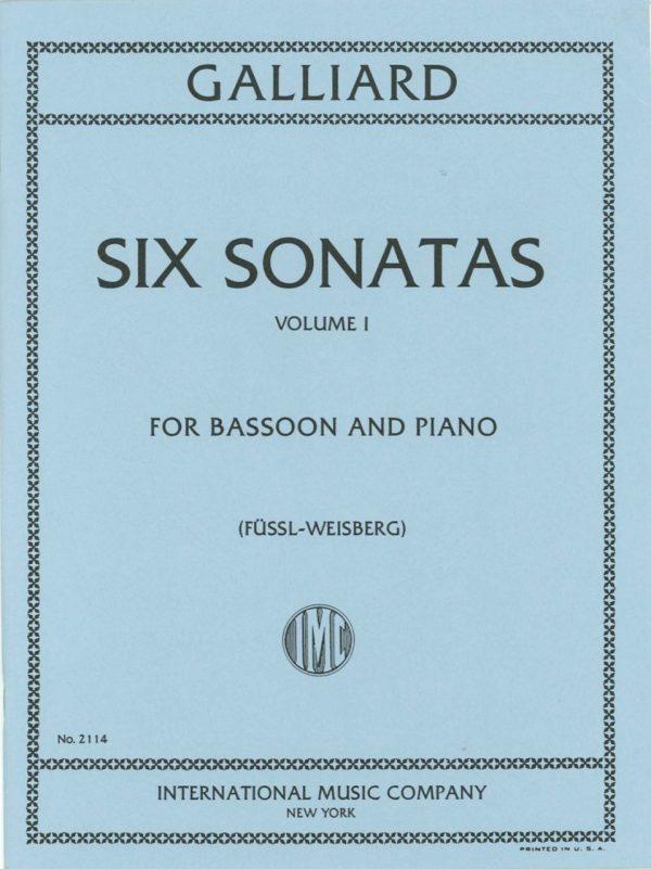 Galliard: Six Sonatas Vol. 1 #1-3