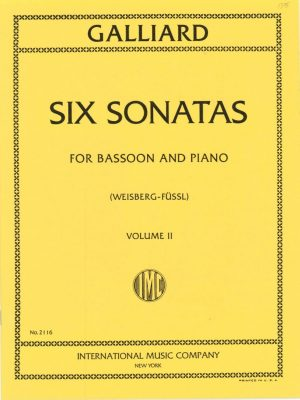 Galliard: Six Sonatas Vol. 2 #4-6