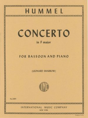 Hummel: Concerto in F Major