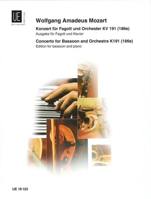 Mozart: Bassoon Concerto KV 191, Universal Edition