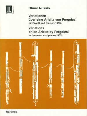 Nussio: Variations on an Arietta by Pergolesi