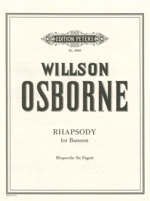 Osborne: Rhapsody for Solo Bassoon
