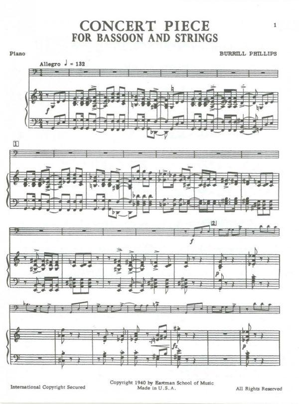 Phillips: Concert Piece
