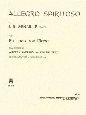 Senaille: Allegro Spiritoso