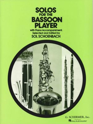 Schoenbach: Solos for the Bassoon Player