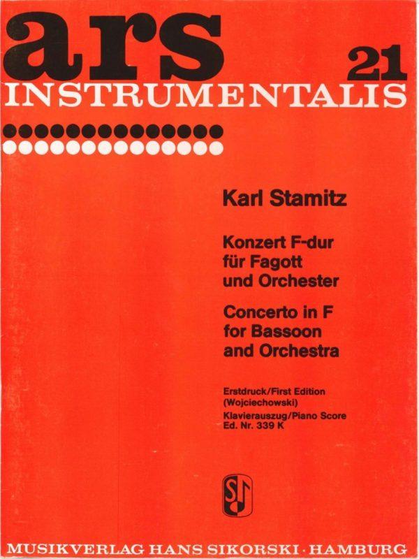 Stamitz: Bassoon Concerto in F
