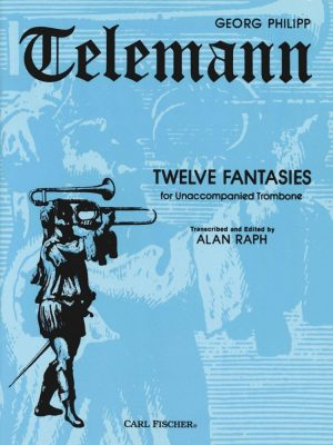 Telemann: 12 Fantasies for Unaccompanied Bassoon/Trombone