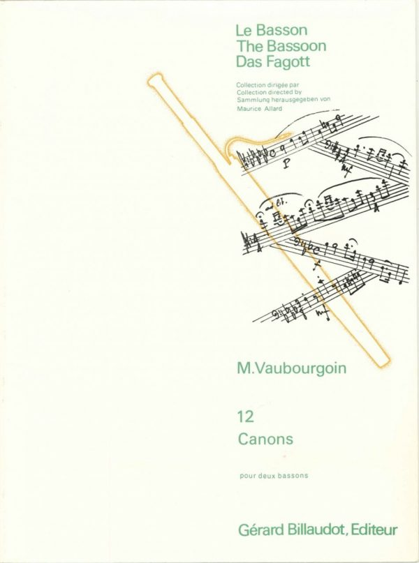 Vaubourgoin: 12 canons
