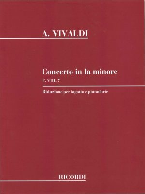 Vivaldi: Concerto in A Minor, F VIII no. 7
