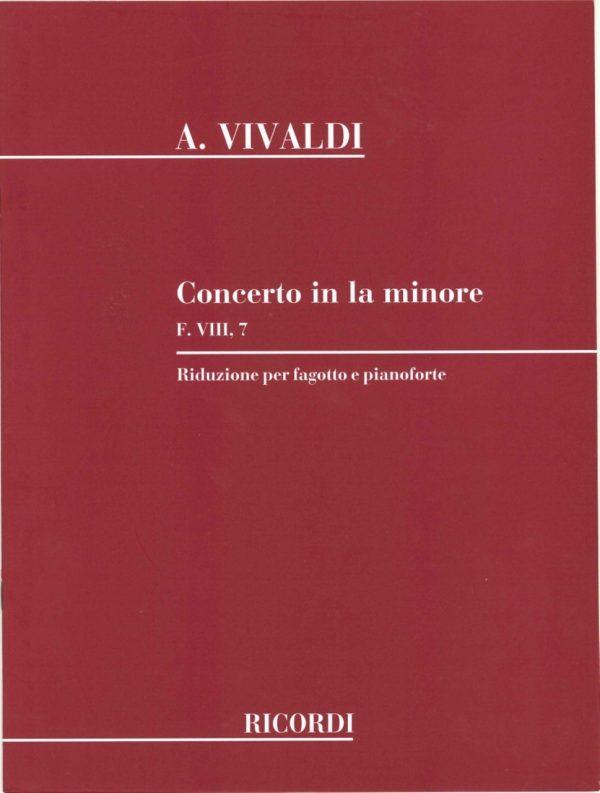 Vivaldi: Concerto in A Minor, F VIII no. 7