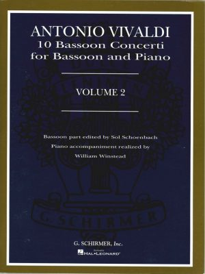 Vivaldi: 10 Bassoon Concerti, Vol 2