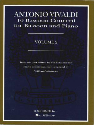 Vivaldi: 10 Bassoon Concerti, Vol 2