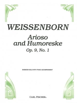 Weissenborn: Arioso and Humoresque, Op. 9 no. 1