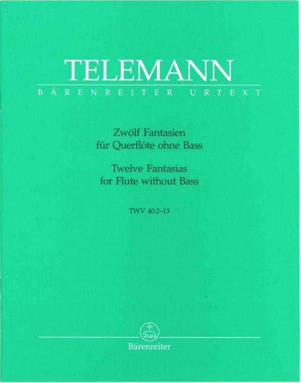 Telemann: 12 Fantasies