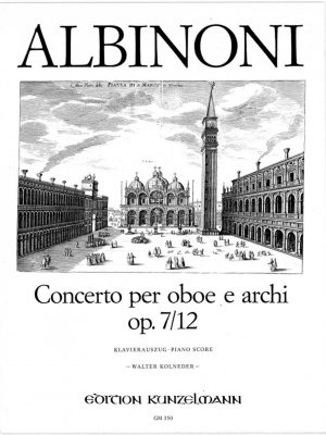Albinoni: Concerto in C op 7/12