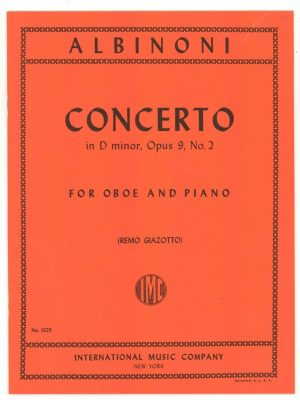 Albinoni: Concerto in D Minor op 9/2