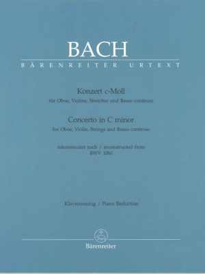 Bach: Concerto in C minor for Oboe and Violin