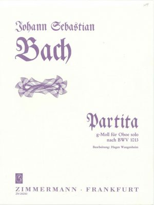 Bach J.S.: Partita in G Minor