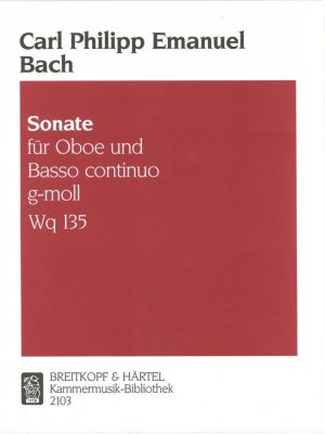 C.P.E. Bach: Sonata in G Minor