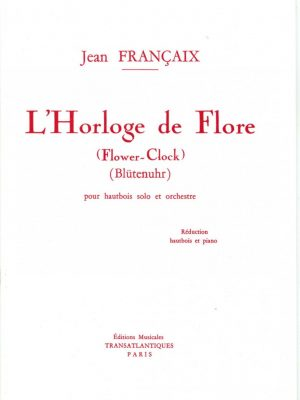 Francaix: Flower Clock