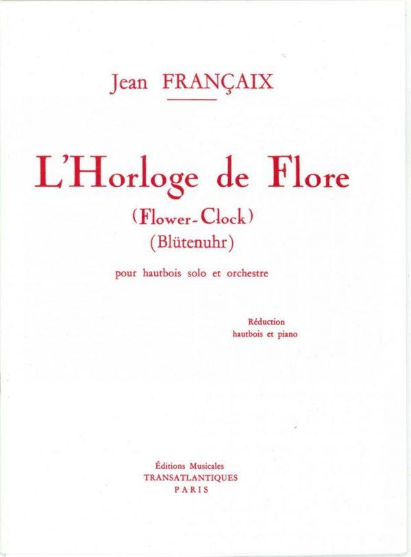 Francaix: Flower Clock