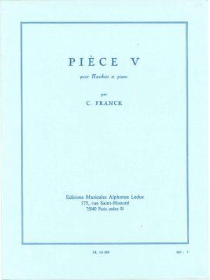 Franck: Oboe Piece V