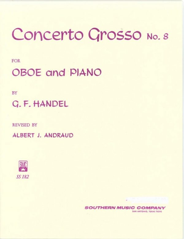 Handel: Concerto Grosso in Bb