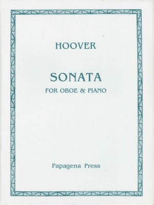 Hoover: Sonata for Oboe