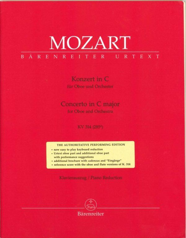 Mozart: Oboe Concerto in C K 314
