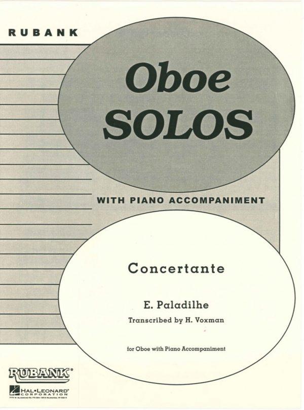 Paladilhe: Oboe Concertante